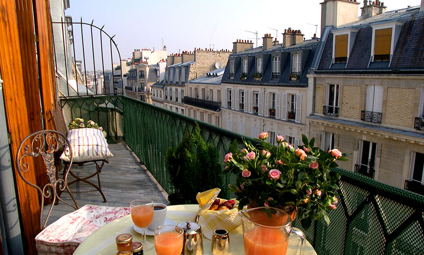 Balcony - Syrah Paris Apartment