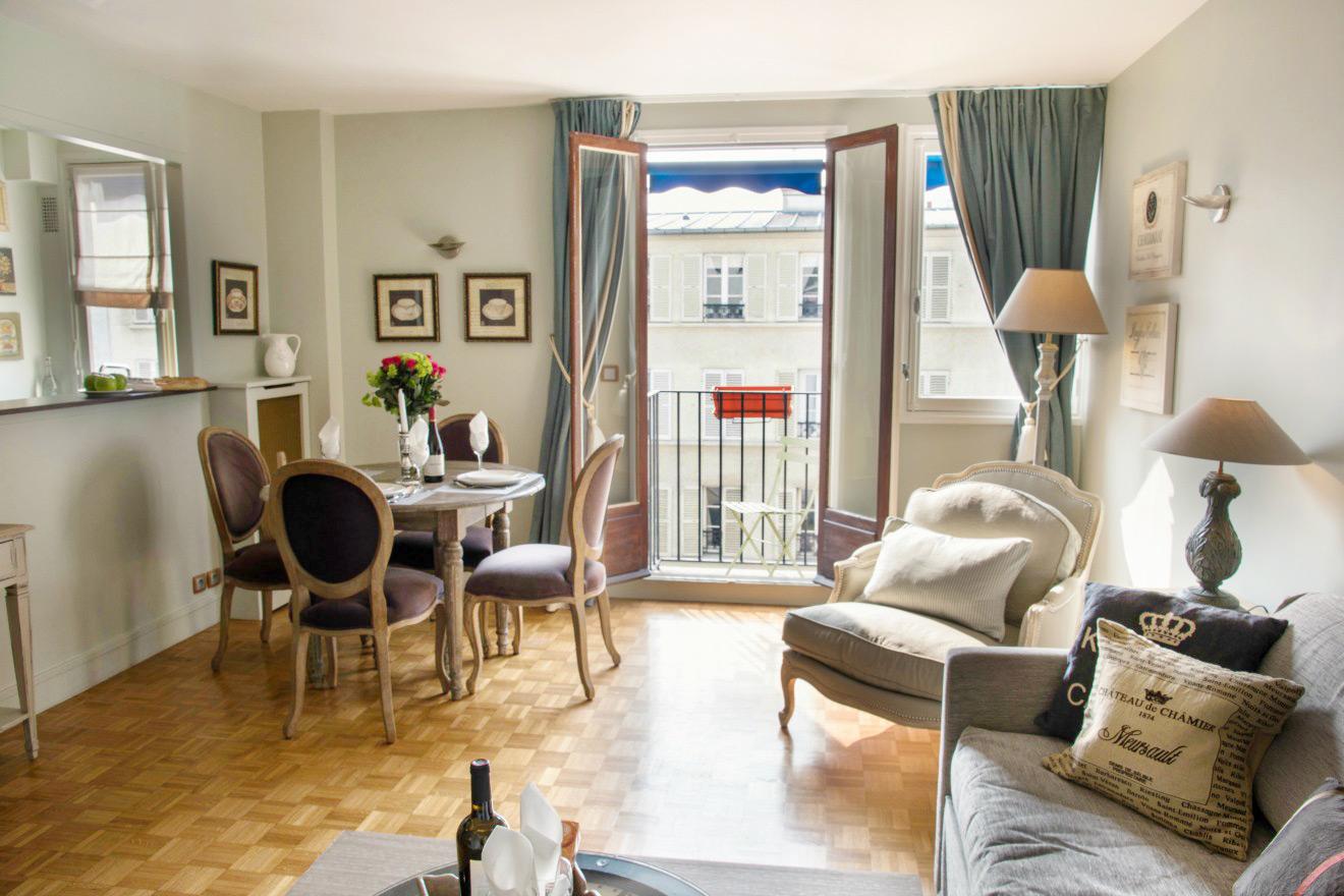 Paris Apartment with Balcony