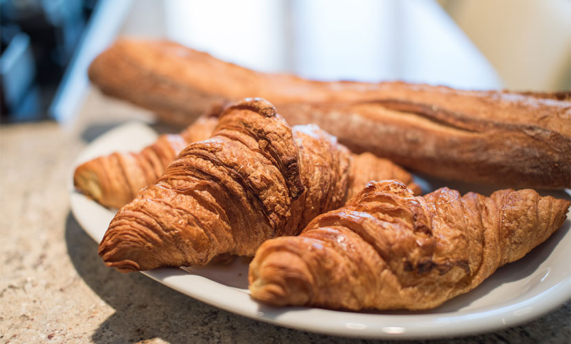 Fresh Croissants in Paris