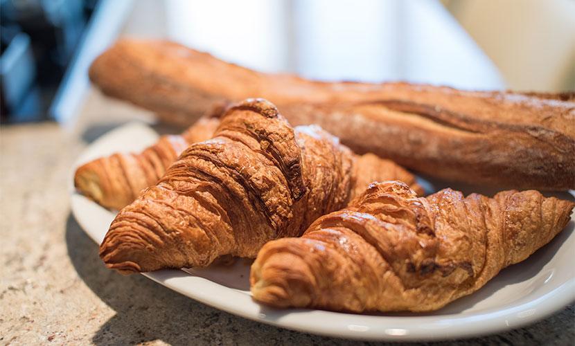 Fresh Croissants in Paris