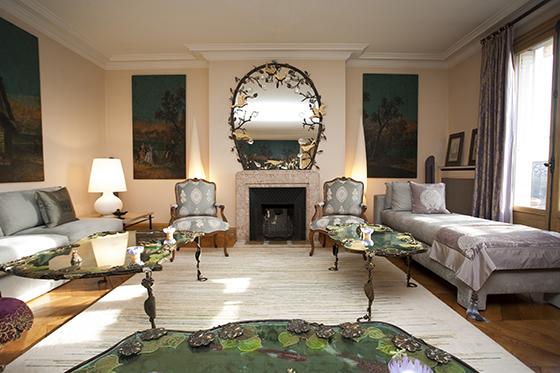 Luxury Living Room Paris Rental