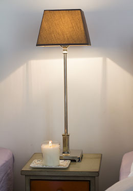 Tall Bronze Reading Lamps