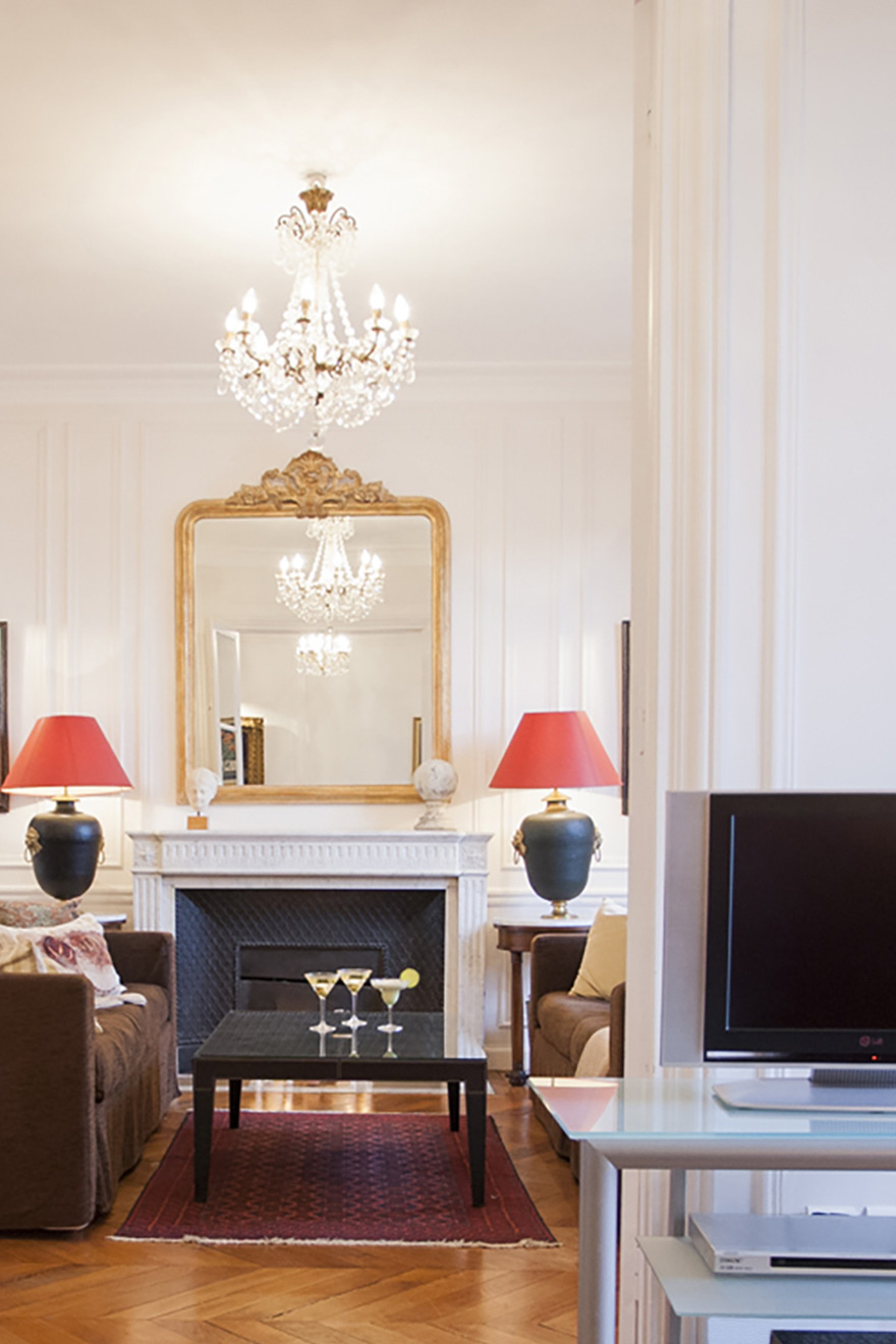 Paris 3 Bedroom Vacation Rental with Eiffel Tower View
