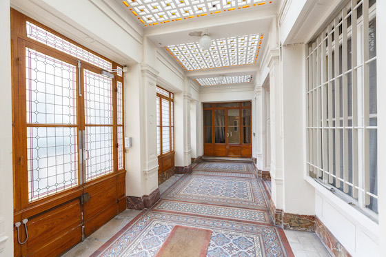 Apartment Building Foyer : The beautiful foyer of our la musique apartment rental