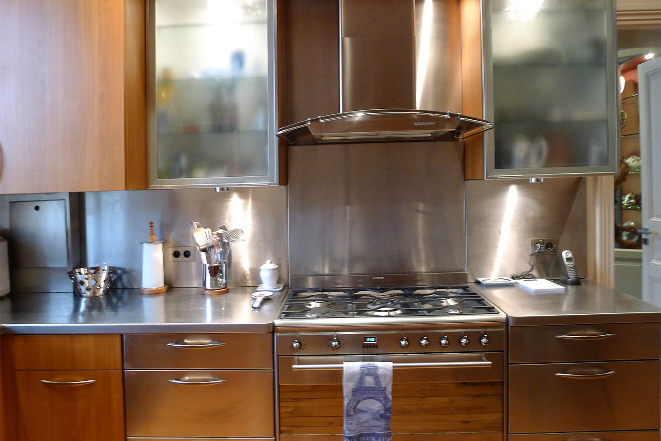 Enjoy cooking at home at this beautiful Paris vacation rental