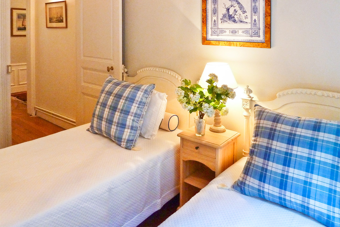 Single Beds in Second Bedroom