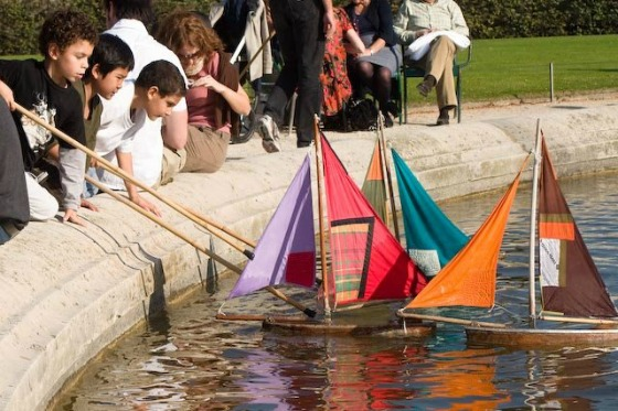 Sail boats - Luxembourg Gardens
