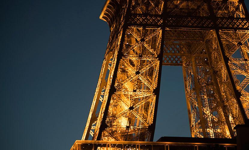 Eiffel Tower Close Up - Paris apartment