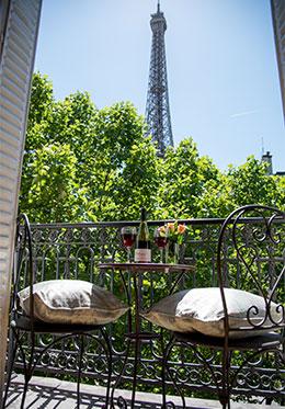 Paris Vacation Rental with Balcony