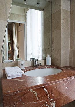 Marble Vanity Second Bathroom