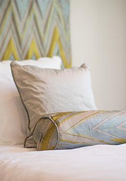 Silk cushions Paris Rental