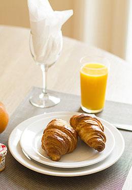 Fresh Croissants for Breakfast