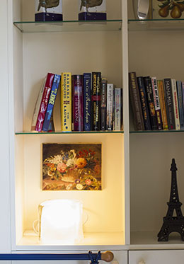 Books in Bedroom