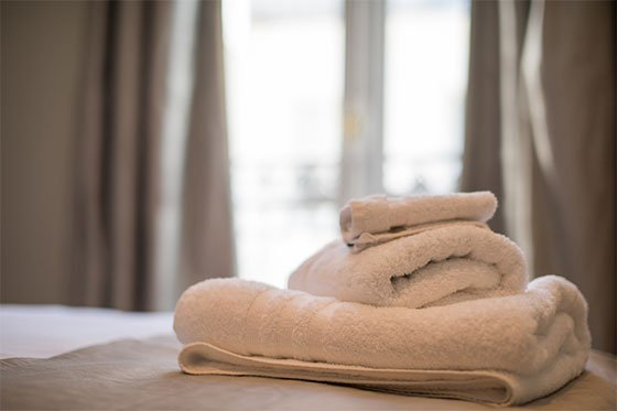 Luxury Towels Paris Vacation Rental