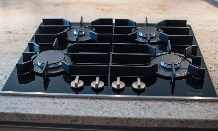 Miele Appliances in Luxury Paris Vacation Rental Kitchen