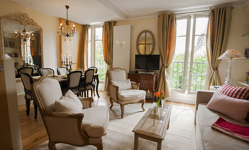 Book 3 Bedroom Apartment Rental Paris on the Left Bank ...
