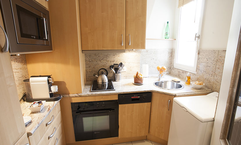 Fully Equipped Paris Kitchen