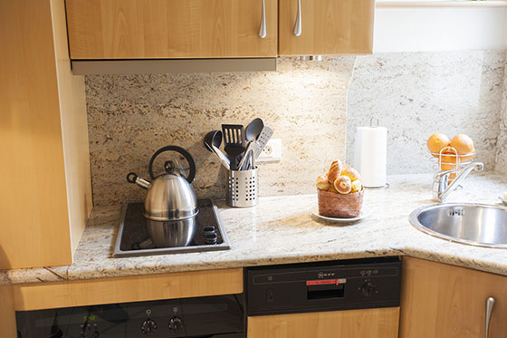Paris Apartment Kitchen