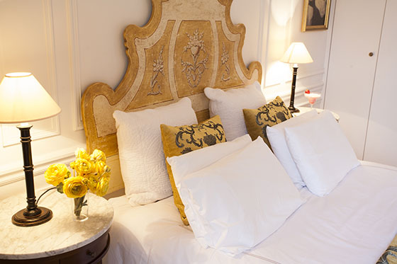 Romantic and Comfortable Paris Bedroom