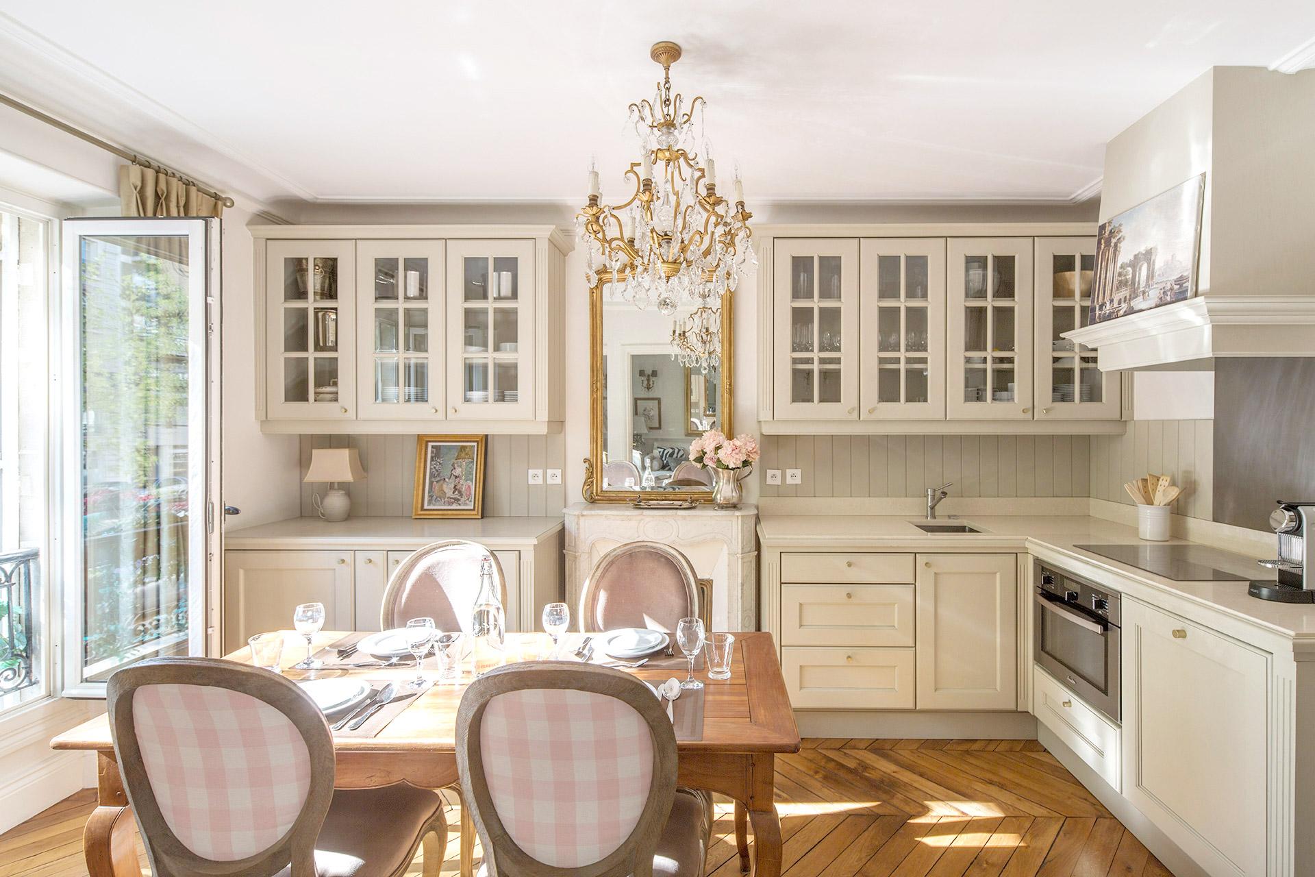 Paris Rental Kitchen