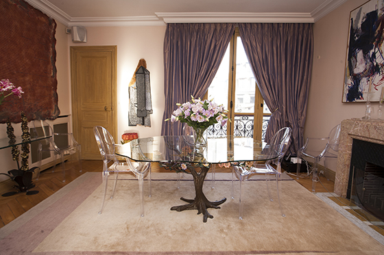Philippe Starck Chairs Paris Apartment