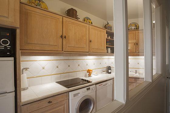 Apartment Rental in Paris Kitchen