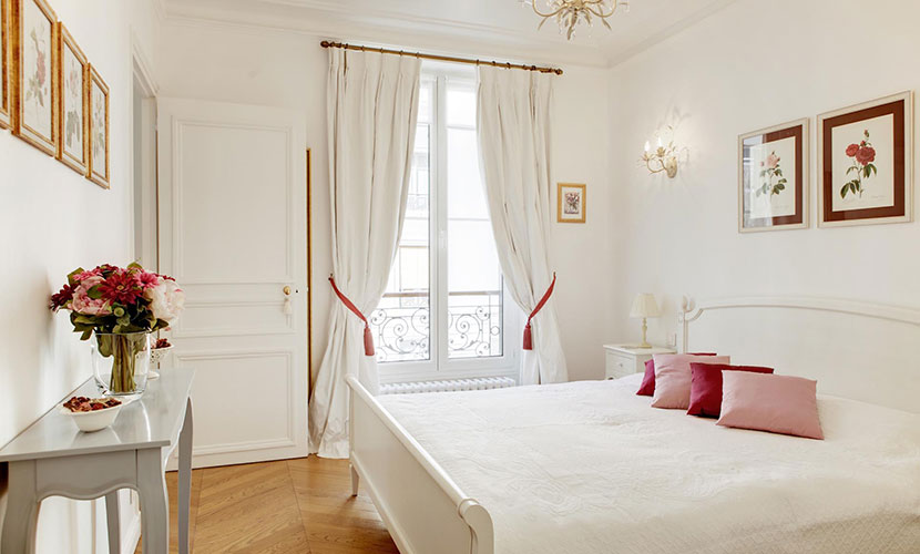Paris Apartment Bedroom