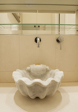 Antique Stone Carved Basin