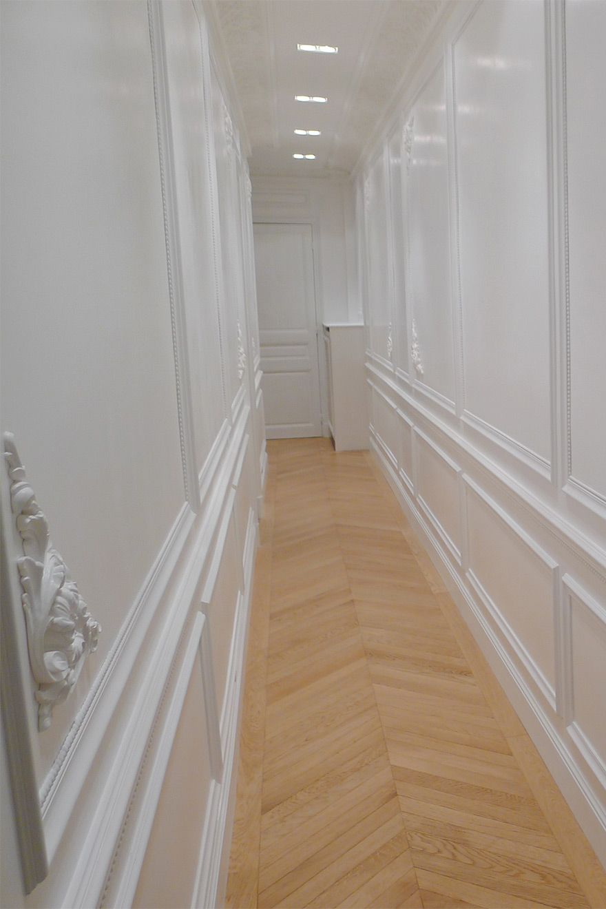 Corridor leads to Second Bedroom