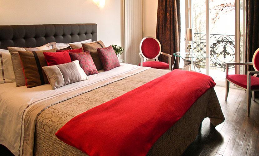 captivating jl deniot paris living room apartm | 2 Bedroom Paris Apartment with Incredible Eiffel Tower Views
