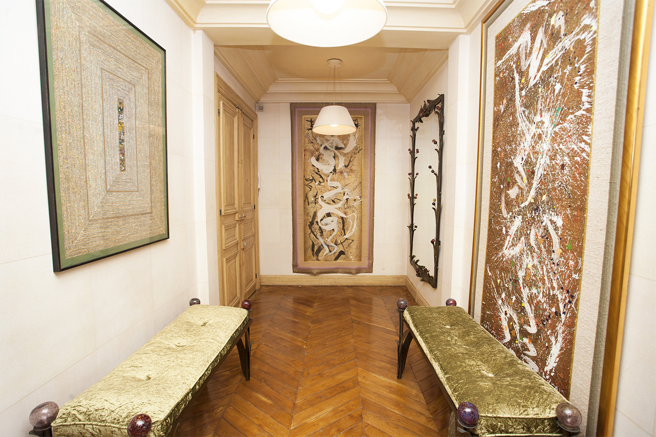 Hallway Luxury Paris Rental