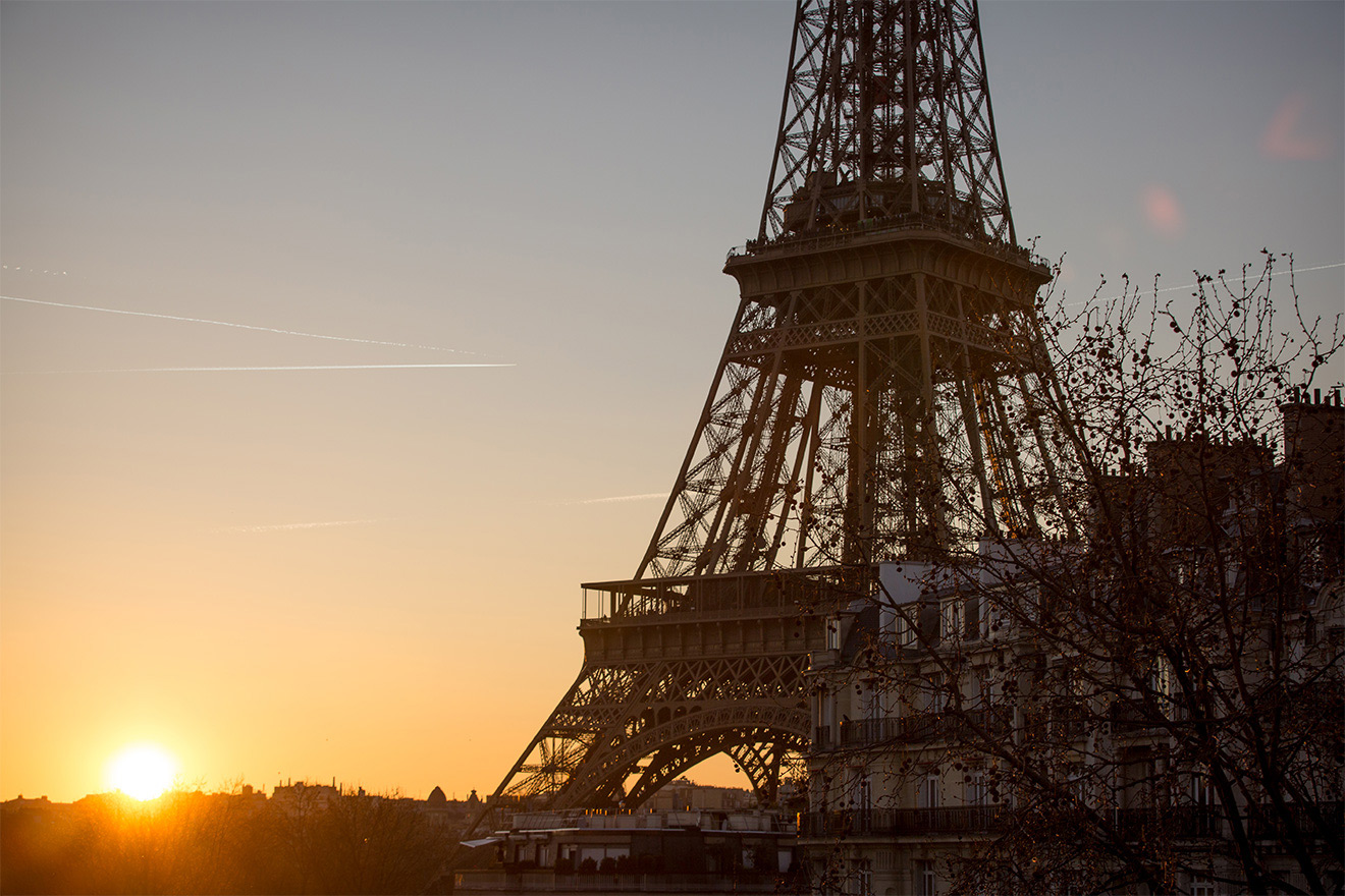 Merlot is minutes from the Eiffel Tower