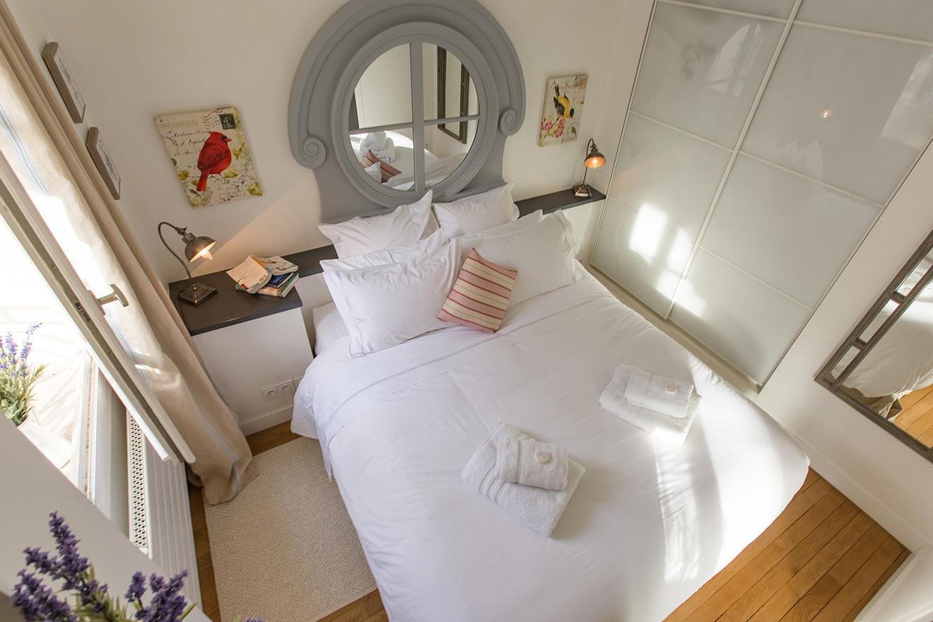 Paris one bedroom apartment