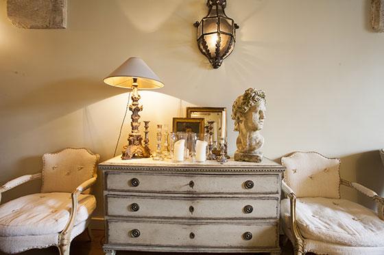 Antique Dresser in Paris apartment