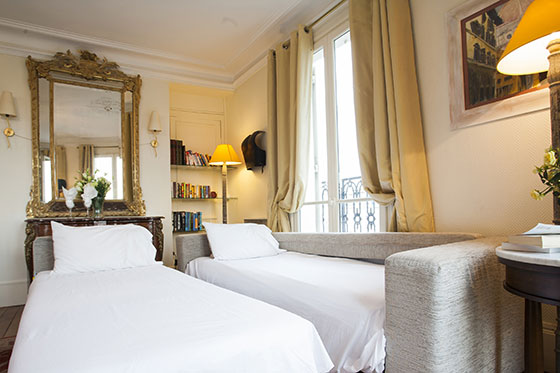 Apartment Rental in Paris with Sofa Bed