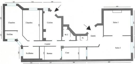 Macon apartment floorplan