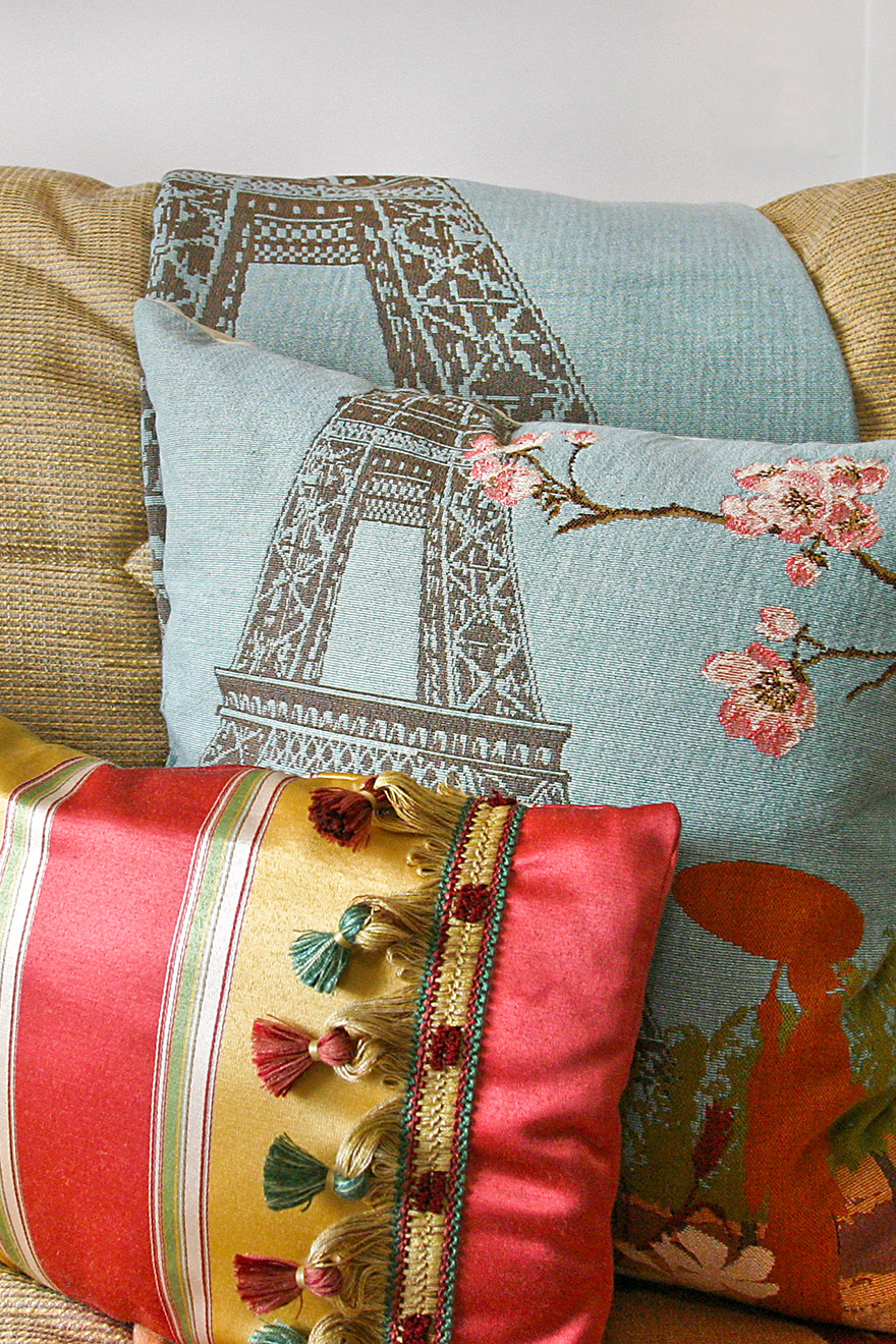 Eiffel Tower Cushions