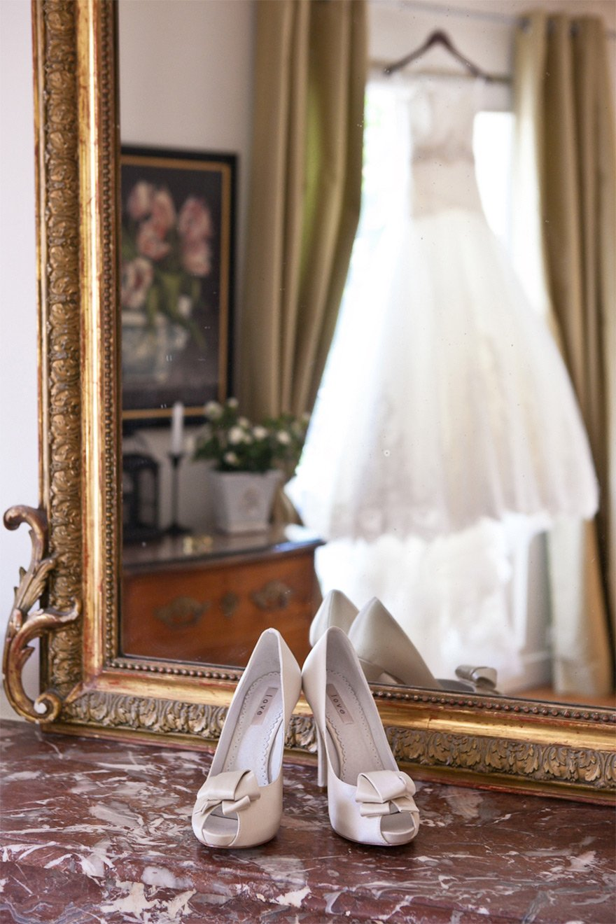 Elegant wedding at the Champagne apartment