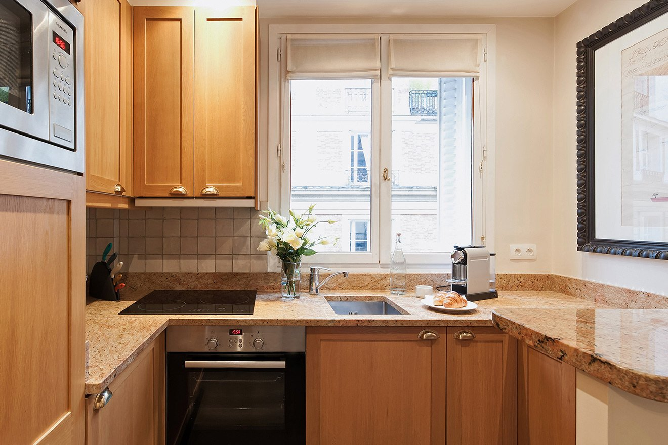 Kitchen in our Alsace Vacation Rental in Paris