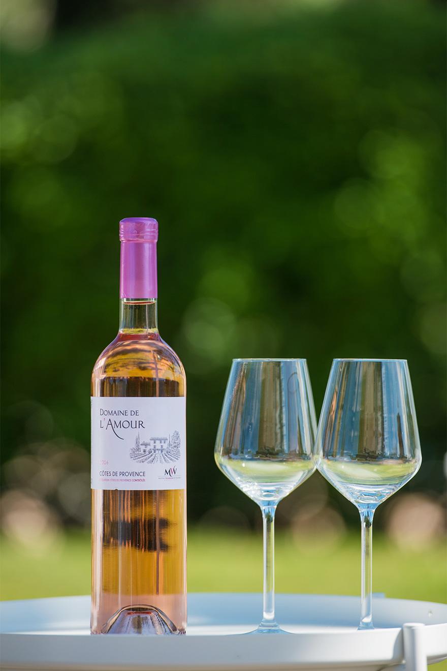 De la Barre Villa wine