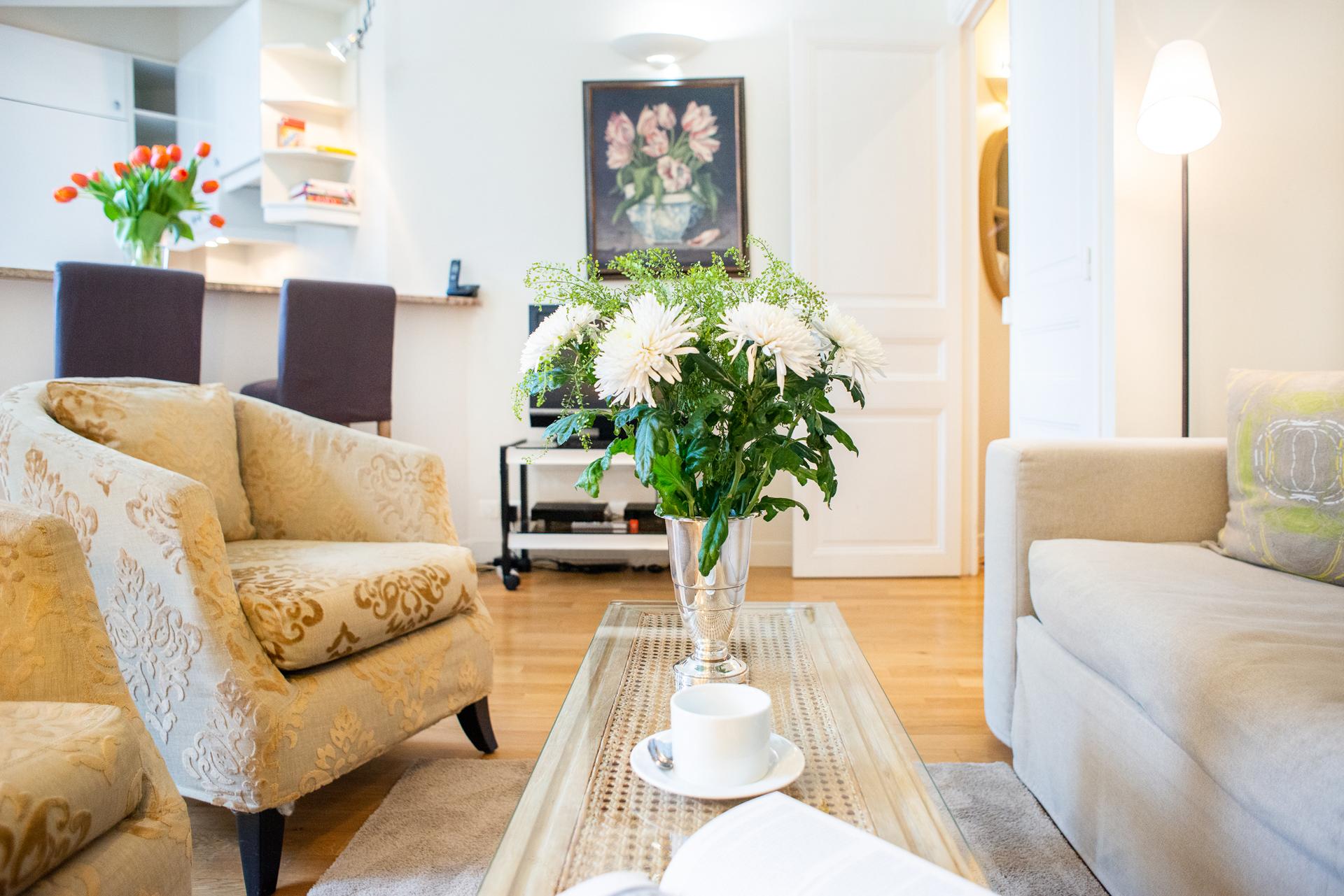 Spacious 2 bedroom rental in St. Germain by Paris Perfect