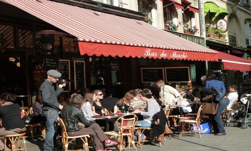 Cafés and brasseries - St Germain, Paris
