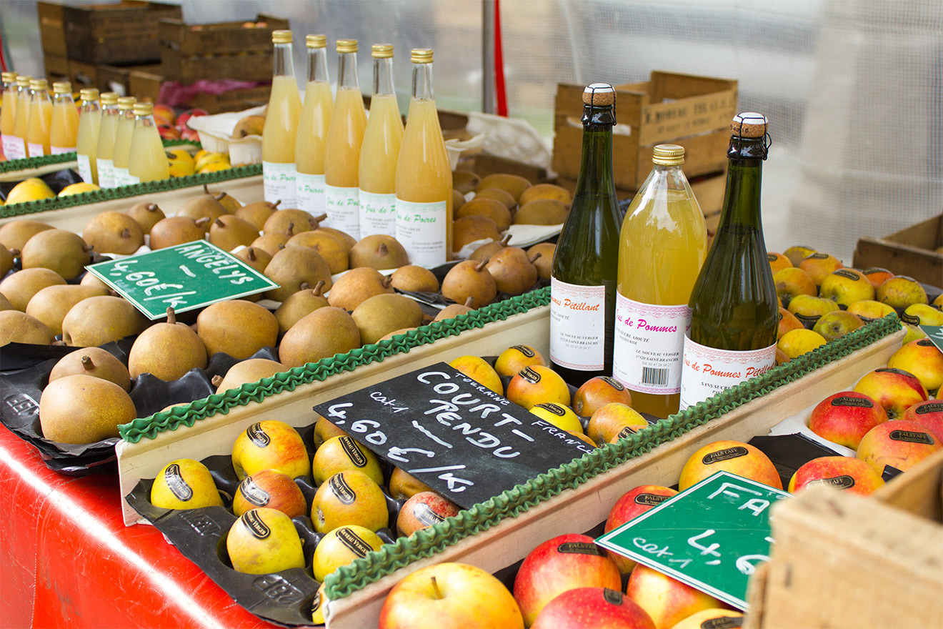Fresh Fruit Paris Markets