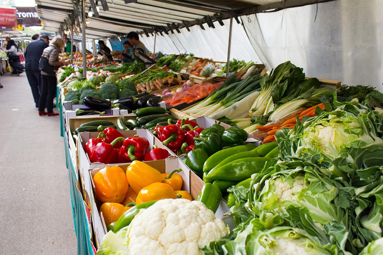 Fresh Fruit and Vegetables 5th Arrondissement Paris
