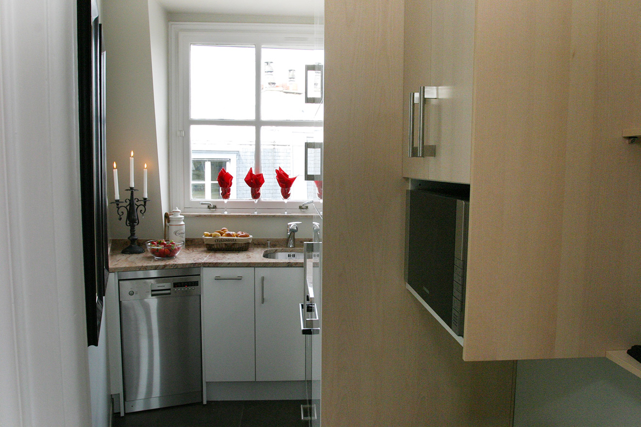 Self-Contained Paris Holiday Rental