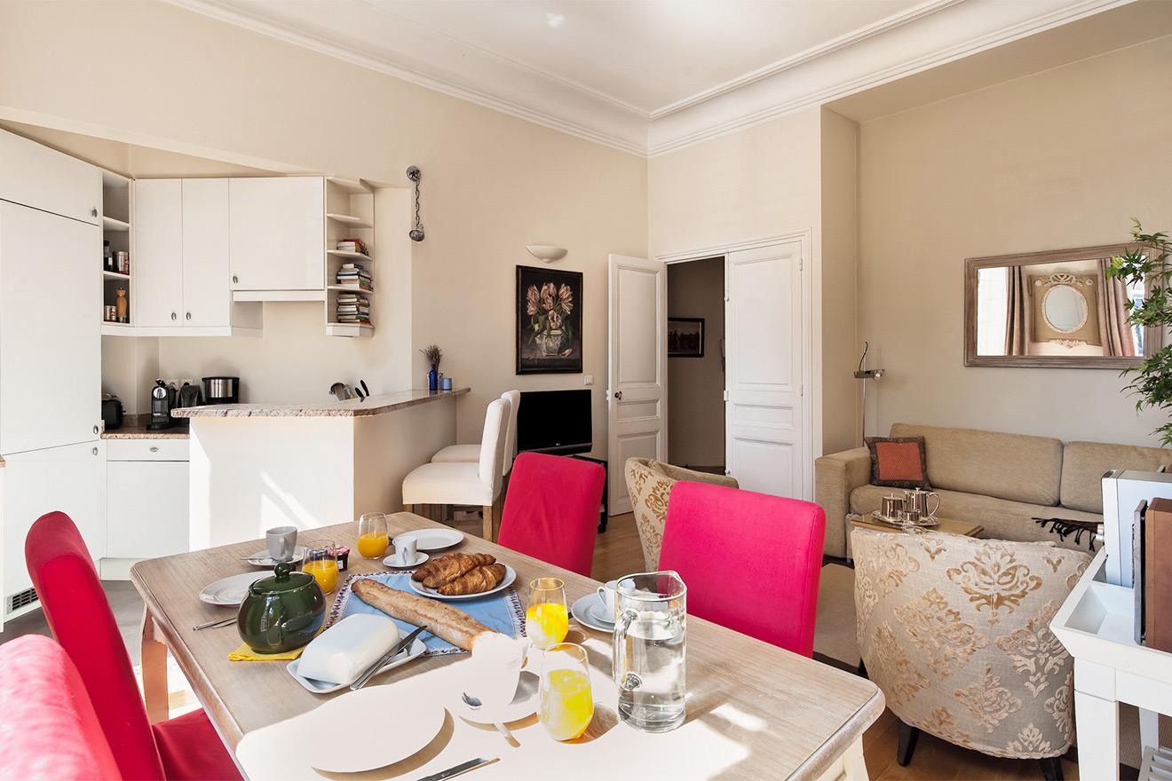 Corton Paris apartment