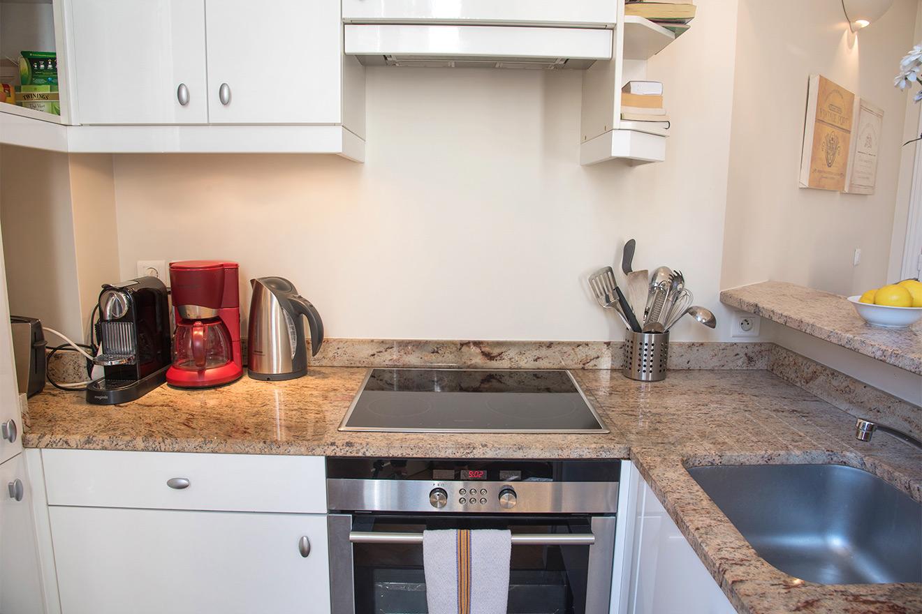 Nespresso Machine in Kitchen