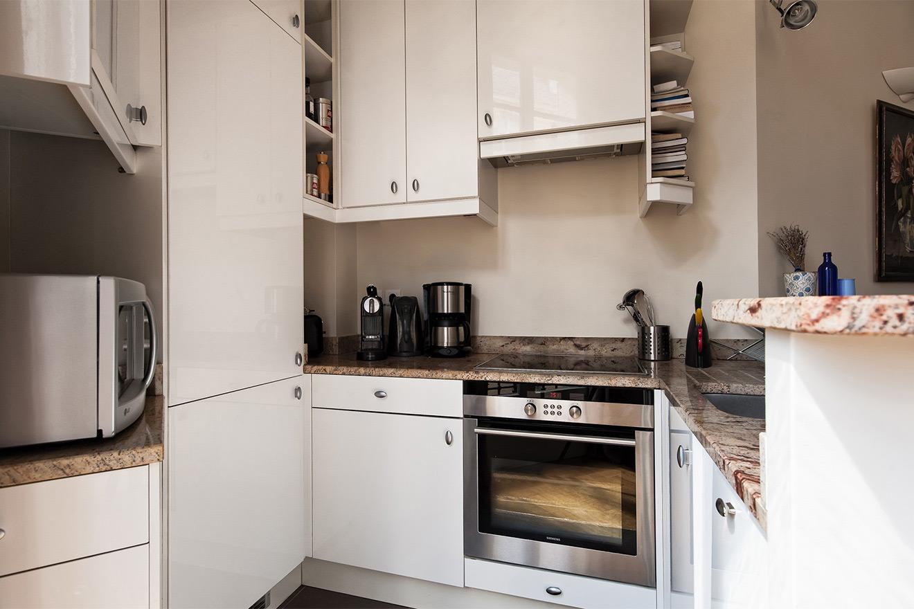 Corton kitchen