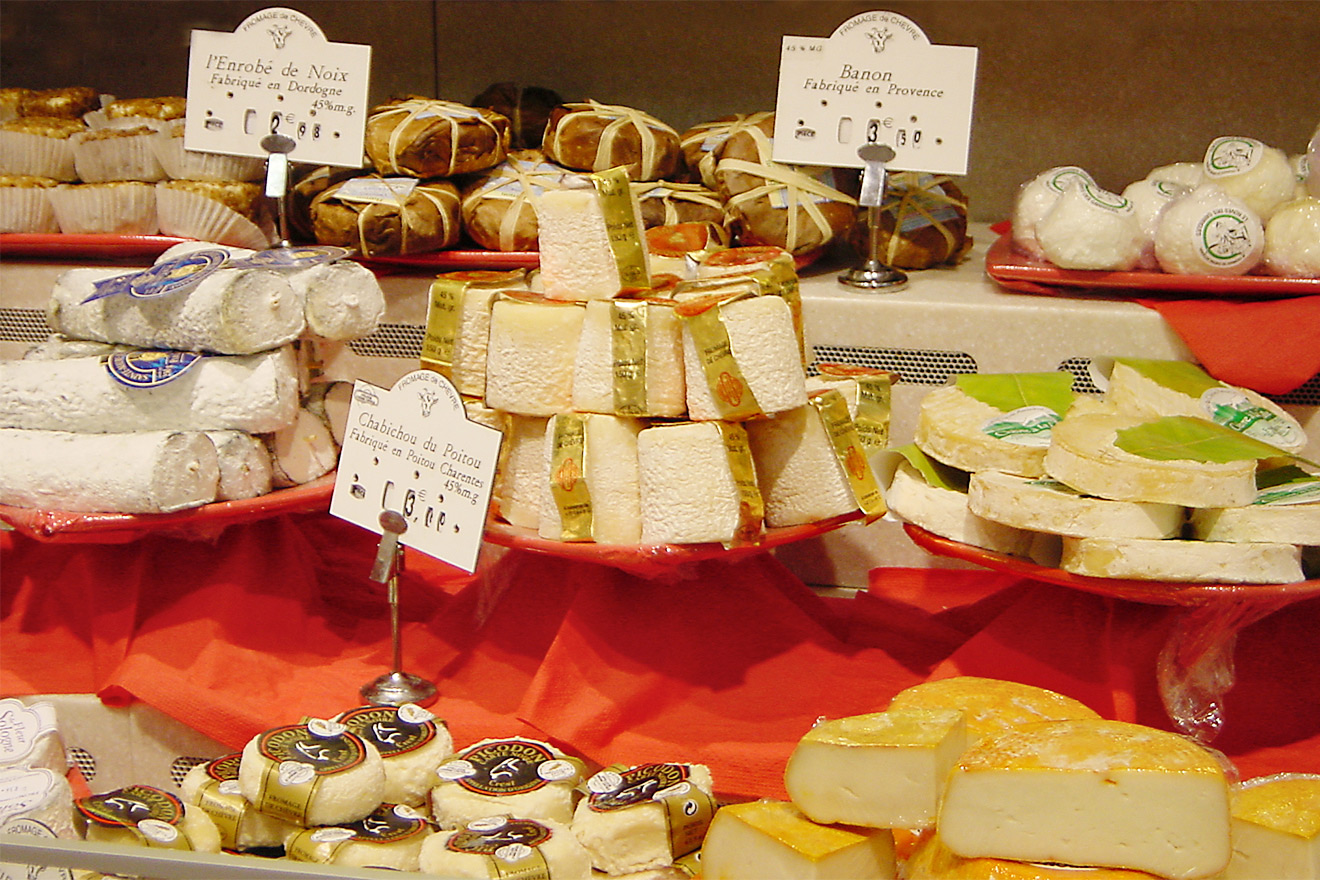Our favorite cheese shop in Paris is nearby