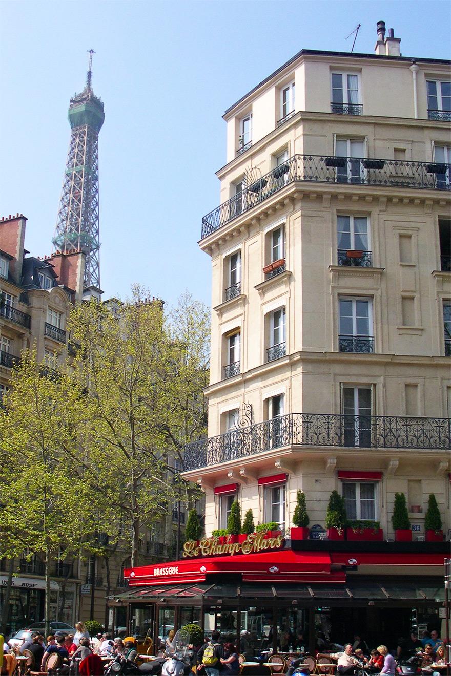 Champs de Mars Restaurant Paris